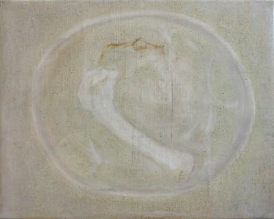 Accommoder les restes #13 -- huile sur toile 24x30cm, 2012