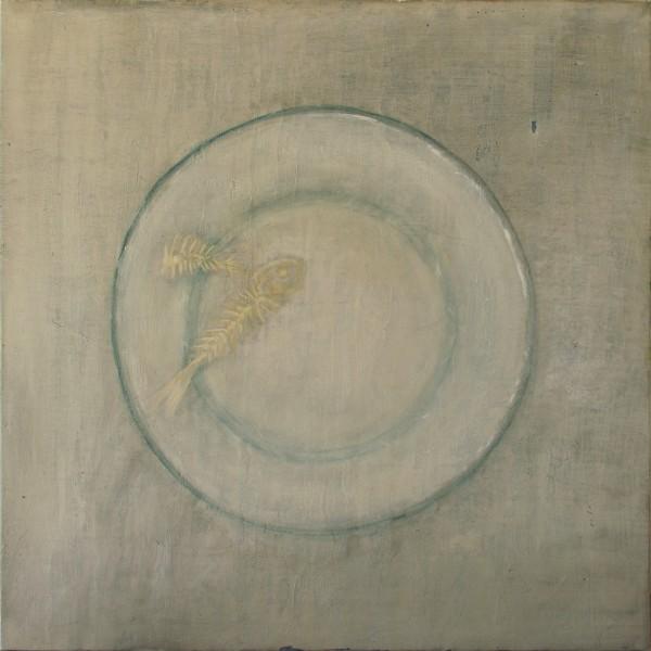 Accommoder les restes #020 -- huile sur toile, 50x50cm, 2012