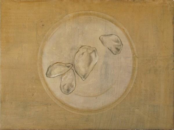 Accommoder les restes #021 -- huile sur toile, 40x30cm, 2014