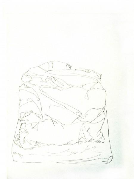 Janvier #12 — crayon sur canson, 24x32cm
