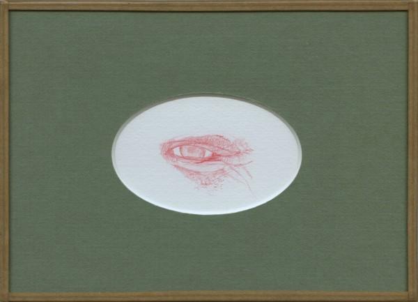 Inimitié (détail) #10, sanguine sur canson, 24x18cm, 2012