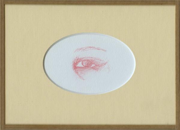 Inimitié (détail) #4, sanguine sur canson, 24x18cm, 2012