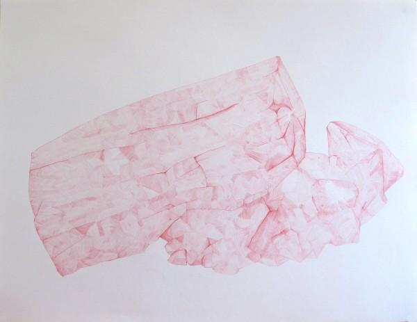 Écritures(braises) 3-4, sanguine sur canson, 50x65cm, 2013