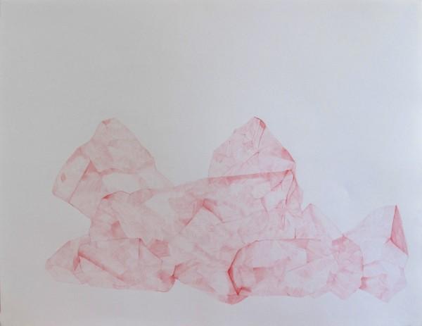 Écritures(braises) 3-6, sanguine sur canson, 50x65cm, 2013