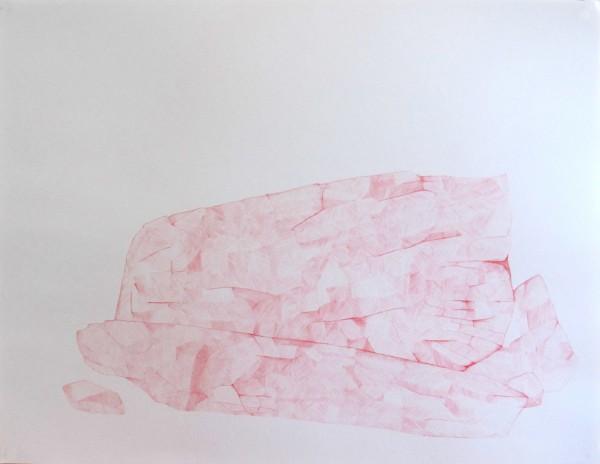 Écritures(braises) 3-7, sanguine sur canson, 50x65cm, 2013
