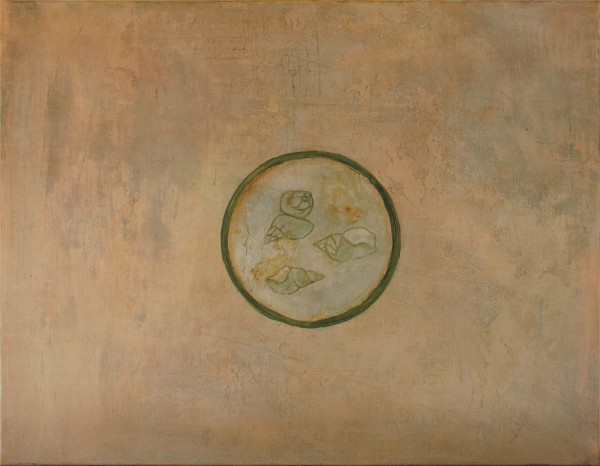 Accommoder les restes #22 -- huile sur toile, 70x90cm, 2014