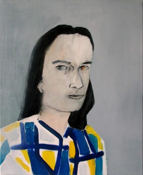 Correction (Aurélien L.) -- huile sur toile, 61x50cm, 2013