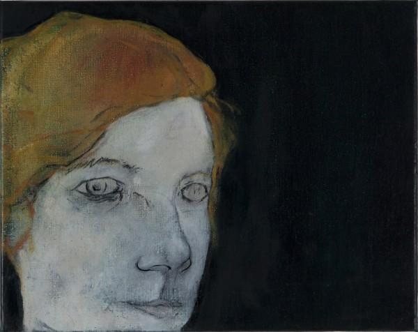Correction (É.V.) #2 -- huile sur toile, 18x24cm, 2013