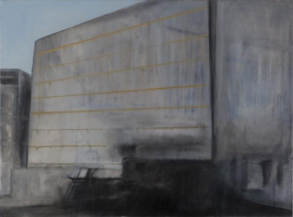 Correction (David A.) #2 -- huile sur toile, 50x70cm, 2012