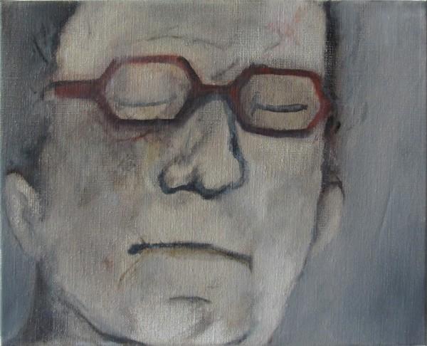 Corrections (Anne A.) -- huile sur toile, 24x30cm