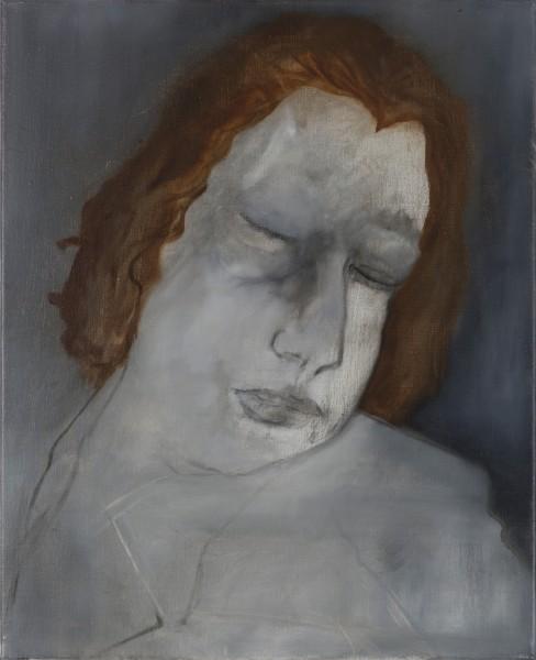Correction (Théo A.) #1 -- huile sur toile, 60x50cm, 2011