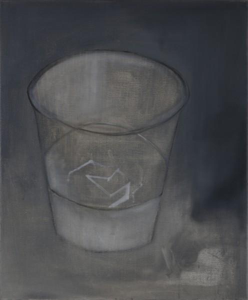 Correction (Théo A.) #3 -- huile sur toile, 60x50cm, 2011