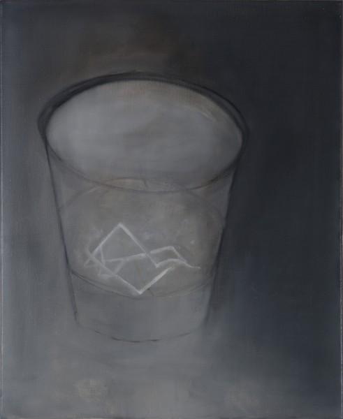 Correction (Théo A.) #2 -- huile sur toile, 60x50cm, 2011