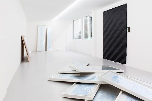 Paris 2014, exposition Éléments Ordonnés à Galerie Laurent Mueller -- Relevés, Relevés BKY, Correction (M.M.)
