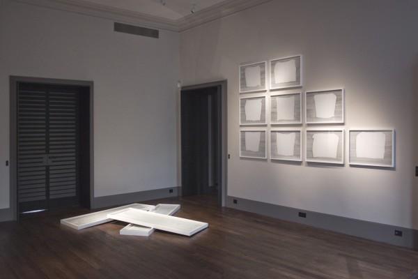 Paris, 2016, exposition In Media Res à la Galerie Gradiva