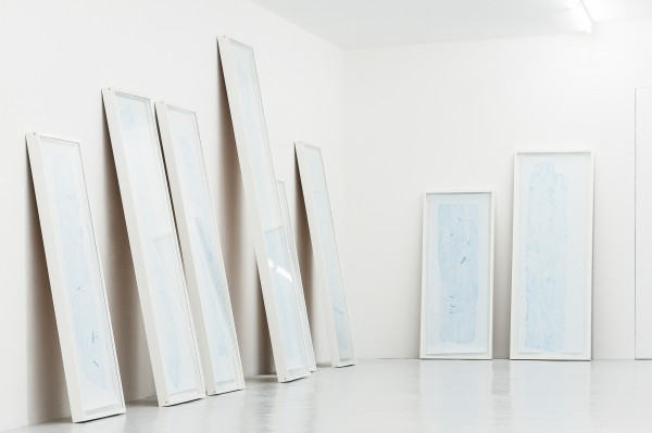 Paris 2014, exposition Éléments Ordonnés à Galerie Laurent Mueller -- Relevés et Relevés BKY