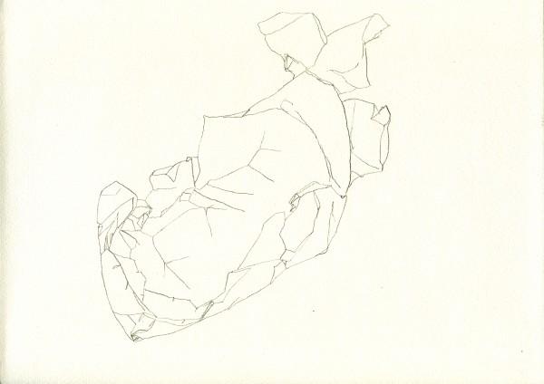 11-07-16 -- crayon sur canson, A4
