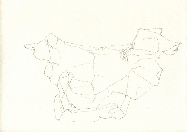 11-07-18 -- crayon sur canson, A4