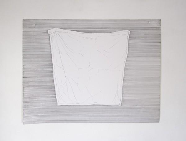 Buanderie #1 -- encre sur canson, 50x65cm