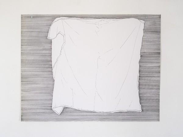 Buanderie #13 -- encre sur canson, 50x65cm
