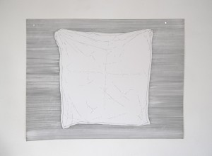 Buanderie #4 -- encre sur canson, 50x65cm