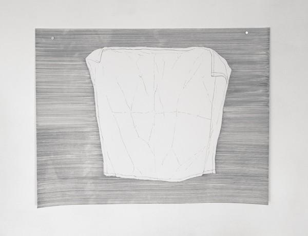 Buanderie #5 -- encre sur canson, 50x65cm