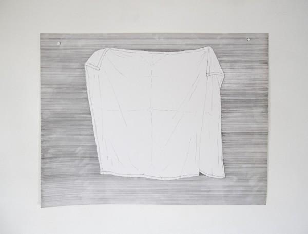 Buanderie #6 -- encre sur canson, 50x65cm