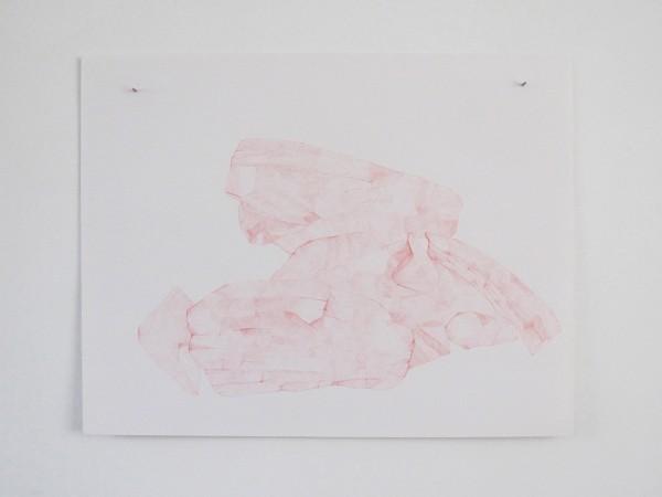 Écritures(braises) 3-9, sanguine sur canson, 50x65cm, 2013