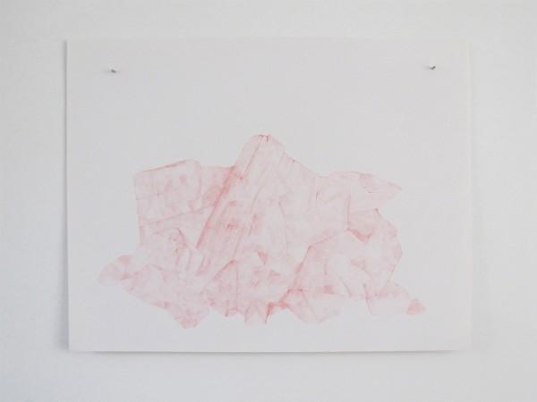 Écritures(braises) 3-10, sanguine sur canson, 50x65cm, 2013
