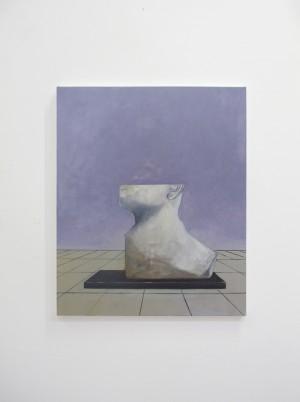 La Chambre des Cartes#1 huile sur toile, 60x50cm, 2017