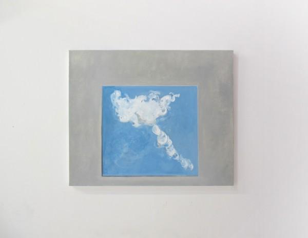 La Chambre des cartes#10, huile sur toile, 40x50cm, 2017