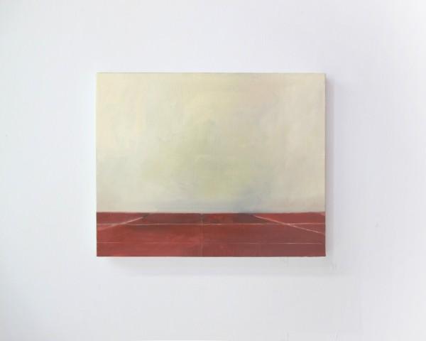 La Chambre des cartes#2, huile sur toile, 30x40, 2017