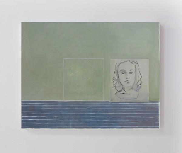 La Chambre des cartes#4, huile sur toile, 50x60cm, 2017