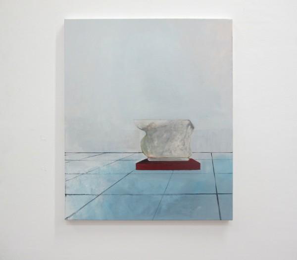 La Chambre des cartes#5, huile sur toile, 60x50cm, 2017