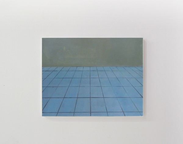La Chambre des cartes#7, huile sur toile, 40x50cm, 2017